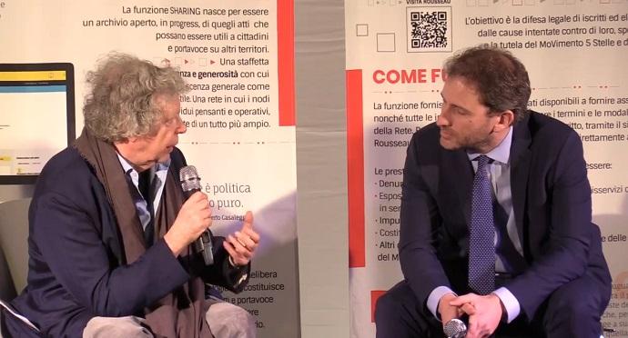 Privacy: Garante, sanzione 50 mila euro per Rousseau
